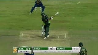 getlinkyoutube.com-Highlights: 2nd T20I at Colombo, RPICS – Pakistan in Sri Lanka 2015