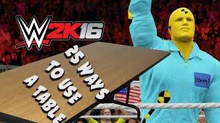 getlinkyoutube.com-25 Ways to Use a Table - The Dummies Return!! WWE 2K16