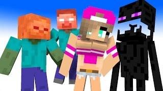 Monster School: Girls vs Boys - Full Series | Minecraft Animation