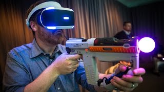 getlinkyoutube.com-Hands-On: PlayStation Project Morpheus Games at E3 2015