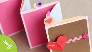 Manualidad dia de la madre: Pocket Stand-up Album // Regalo Día del amor y la amistad - 14 Febrero