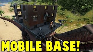 getlinkyoutube.com-Mobile Base! Ark Survival Evolved