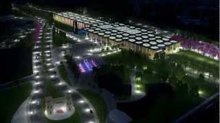 getlinkyoutube.com-3D CORDOBA ANIMATION LUMION --Cordoba South East Transport Intermodal Station