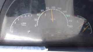 getlinkyoutube.com-Разгон Mercedes Vito 638 до 150км/ч