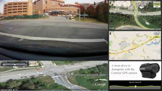 Contour GPS Video with Multiple Map Windows - HD