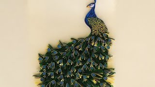 getlinkyoutube.com-paper quilling peacock