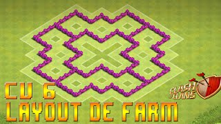 Clash Of Clans - Layout's de Farm e de Push CV6