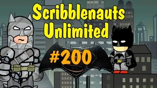 getlinkyoutube.com-Scribblenauts Unlimited 200 Batman & Armored (Patreon Create)