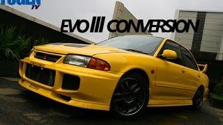 getlinkyoutube.com-Mitsubishi Lancer to Evolution 3 Conversion [MITSUBISHI EVOLUTION III] [FUGEN TV]