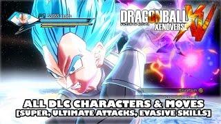 getlinkyoutube.com-Dragon Ball Xenoverse All DLC Characters & Moves (Super Attacks, Ultimate Attacks, Evasive Skills)