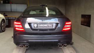 getlinkyoutube.com-V8 Sound für Mercedes C-Klasse W204 Coupe Diesel + Benziner