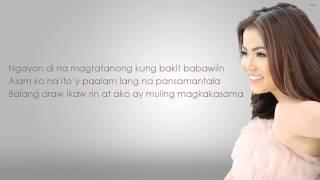 Hanggang Wakas - Juris - Lyrics [HD]
