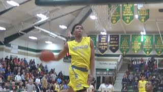 getlinkyoutube.com-Miles Bridges and Marcus LoVett Jr Show Out At Inaugural 2014 LeBron James Classic!!