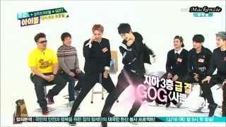 "getlinkyoutube.com-[141217] Weekly Idol(주간아이돌) - GOT7 ""Girl group dance"" cut [HD]"