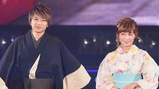 getlinkyoutube.com-AAA・西島隆弘、宇野実彩子らメンバーが浴衣でランウエー!「TGC2015 S/S」(イトーヨーカドー) #AAA #TOKYO GIRLS COLLECTION