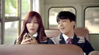 getlinkyoutube.com-Apink & BAP - Mini (미니) skoolooks MV