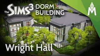 The Sims 3 Dorm Building - Wright Hall Dormitory