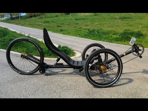 Homemade Carbon Fibre Recumbent Trike