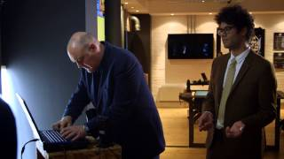 getlinkyoutube.com-Richard Ayoade & Dara Ó Briain visit the office of the future: Gadget Man S04E02