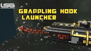 getlinkyoutube.com-Space Engineers - Grappling Hook Launcher & Winch Mechanism Part 37