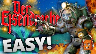 getlinkyoutube.com-Der Eisendrache | HOW TO KILL PANZER IN 5 SECONDS! / Amazing BOW STRATEGY! (Black Ops 3 Zombies)