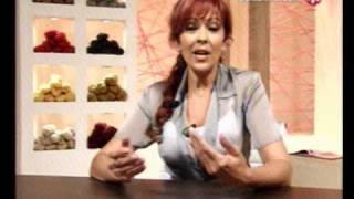 getlinkyoutube.com-Tejidos Mabel Gomez - CARDIGAN - SMOKING EN DOS PIEZAS
