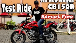 getlinkyoutube.com-Test All New Honda CB150R Street Fire