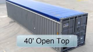 Видео-демонстрация и описание всех видов контейнеров