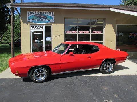 RossCustomsMI.com - SOLD SOLD - 1970 Pontiac GTO #'s match 400 - PHS Documentation