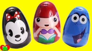 getlinkyoutube.com-Disney Princess Ariel, Dory, Minnie Mouse Bath Soaps Magic Surprises