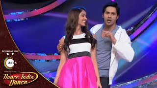 getlinkyoutube.com-DID Lil Masters 3 Behind The Scenes: Ileana & Varun Dhawan Perform On Hero