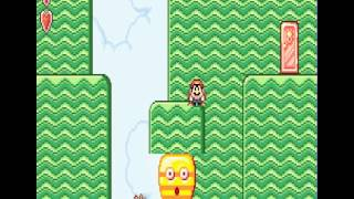 getlinkyoutube.com-Super Mario Bros. 2 Comparison (NES, SNES, Gameboy Advance)
