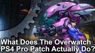 Overwatch - PS4 Pro vs PS4/PC Graphics Comparison