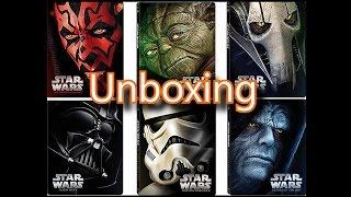 getlinkyoutube.com-Star Wars Episodes 1-6 Steelbook Blu-Ray Unboxing