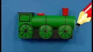 getlinkyoutube.com-Mister Maker | Train Pencil Pot