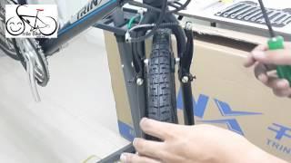 getlinkyoutube.com-วิธีการตั้งวีเบรค โดย Smile Bike