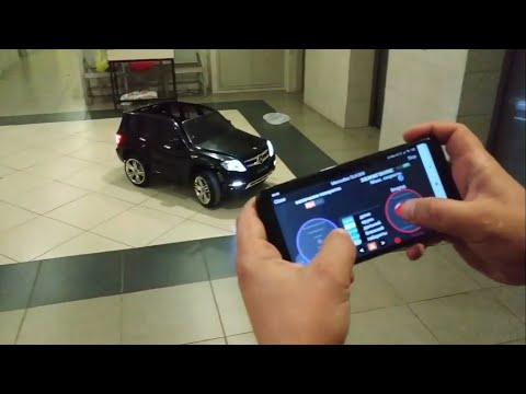 Mercedes GLK300. Рестайлинг 2019). Часть 1. - управление движением с андроид устройства