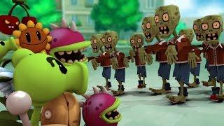getlinkyoutube.com-Minecraft | Plants vs. Zombies Mod in Minecraft! (Zombies Mod, PVZ Mod, Plants vs Zombies)