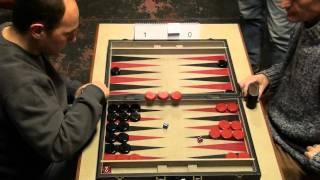 getlinkyoutube.com-2011 Leuven Open Backgammon semifinal