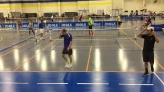 getlinkyoutube.com-Mid-Atlantic Pickleball Regional - 5.0 Mens Doubles Final - Arlington, VA