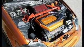 getlinkyoutube.com-My Civic EK/EJ J32a2 V6 swap update