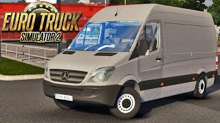 getlinkyoutube.com-Sprinter Mercedes Benz - Euro Truck Simulator 2