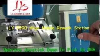 getlinkyoutube.com-2017 new LY 5300 auto optical alignment system Mobile BGA rework station 3 zones 2500W