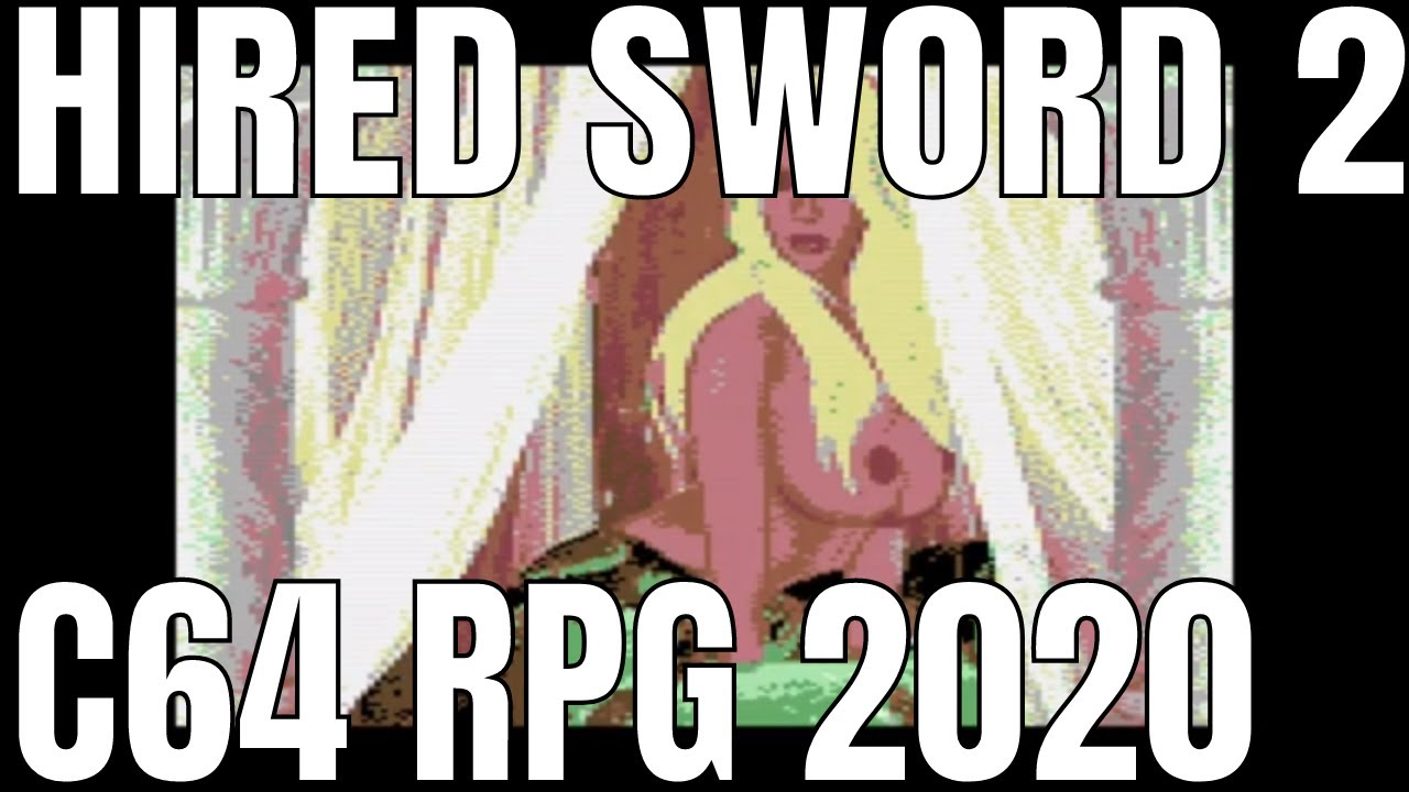 Hired Sword 2 - NEW C64 RPG Game in 2020