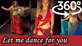 getlinkyoutube.com-360° Video 4K | Belly Dancing in Virtual Reality | Nikki - A Spirit in Motion