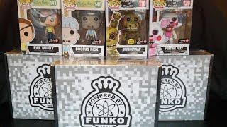 getlinkyoutube.com-Funko Pop Gamestop Black Friday Mystery Box: Rick & Morty, Five Nights at Freddy's Exclusive