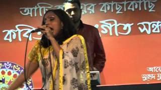 getlinkyoutube.com-Bangla Folk Song Matiro Pingiria Shonar Moyna singing by UK Bengali singer Rowshanara Moni