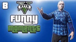 getlinkyoutube.com-GTA 5 Online Funny Moments Ep. 8 (700K Subscribers!!! And Shirt shop info!!!)