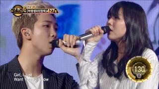 getlinkyoutube.com-【TVPP】 Rap Monster (BTS) - Umbrella,  랩몬스터(방탄소년단)- 우산 @ Duet Song Festival