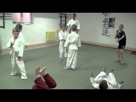 Trening aikido dla dzieci w klubie Kyodo Warszawa